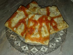 Pizza kvadrati