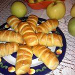 Limun kiflice sa pekmezom od šljiva