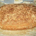 Integralni hleb od speltinog i raženog brašna