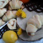 Posne kiflice sa narandžom