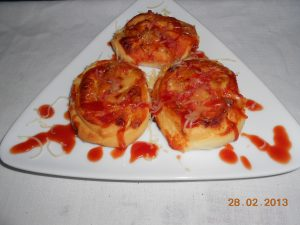 Mini pani pizze