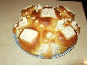 Posni slavski kolač