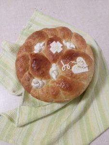 Gluten free slavski kolač