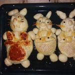Vaskršnji zečevi od testa