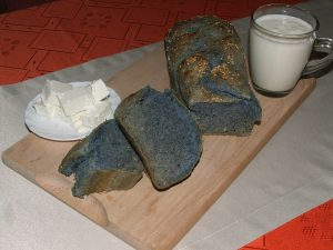 Blue magic bread