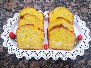 slatki hleb sa bundevom i sirom