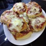 Novogodišnje mini pizze
